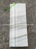 Moldeados de mármol blancos Polished de la fábrica al por mayor para el proyecto