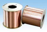 Fils d'aluminium plaqué de cuivre de la DPA pour la connexion de périphérique électrique