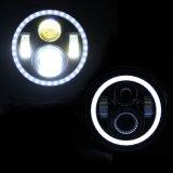 48W 7inch 크리 사람 천사 눈을%s 가진 고/저 광속 LED Jk 헤드라이트