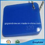 Conseil en acrylique moulé bleu avec 100% de matériau vierge