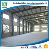 Estructura de acero para el taller