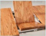 Madeira contínua telescópica do projeto novo que jantam a tabela da mobília e cadeiras ajustadas