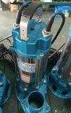 Bomba submergível (suja) elétrica 0.45kw da água de esgoto V450, fase monofásica, tomada 2inch