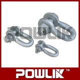 Hardware Hot-DIP aço galvanizado de aço tipo U para Link Power Fitting