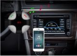 Receptor portable de la música de Bluetooth del coche con la radio de FM