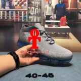 Platine de Vapormax Flyknit d'air de laboratoire de Mens de Nk/chaussures de course rouges 40-45yards de coussin d'air de tissu