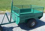 off-Road ATV 로그 트레일러; 정원 트레일러