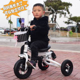 нажим ручки Trike езды Bike трицикла малыша малыша 4in1 Ехать-на Prams игрушек