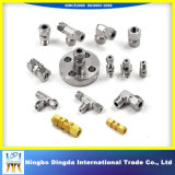 Maschinell bearbeitenteile ISO-9001 gebildet vom Messing/vom Aluminium/vom Edelstahl