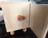 Rectángulo de almacenaje de madera de la historieta del rectángulo de madera del tejido