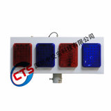 Красный/Синий на солнечной энергии 8 ПК мигание сигнальной лампы трафика