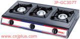 Tre Burner Gas Cooker in Grey Coating di Jp-Gc307t