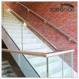 Railing настила балкона лестницы нержавеющей стали