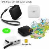 Kleiner Tasten-Form GPS-Verfolger-Schlüssel-Anhänger A18