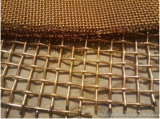 Acero revestido de cobre de Malla de Alambre engarzado