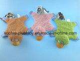 Giocattolo dell'animale domestico del giocattolo della corda del giocattolo del cane di pecore della peluche