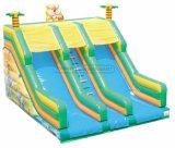 喝采の娯楽キリンの屋内運動場装置の膨脹可能なスライド