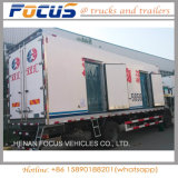 Light Duty Frozen Food Cooling Van Body Isulated Refrigerated Truck