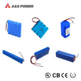Tipo recarregável bateria do Li-íon de armazenamento do bloco da bateria do íon 18650 de Lithiu