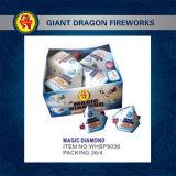 Fuegos artificiales mágicos del juguete de los fuegos artificiales del diamante