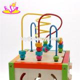 Neues heißestes pädagogisches Baby-hölzerne Aktivitäts-Spielwaren für Weihnachtsgeschenke W11b084