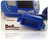 Défibrillateur Defixpress Meditech avec l'ECG, fréquence de pouls et optionnelles de SpO2, les paramètres de module de PNI