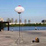 新しい到着のガソリンインバーター発電機が付いている移動式携帯用屋外の照明タワー