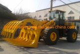 China-lader voor hydraulische truck met vierwielaandrijving, met 5 ton belasting vóór Voor Constuction