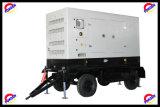 groupe électrogène silencieux de 280kw/350kVA Cummins Engine avec la remorque