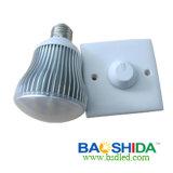 7 het LEIDENE van watts E27 Licht van Dimmable (BSD-D-e27-39PS60)