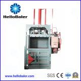 Carte straccie di Comressing della doppia pressa per balle verticale idraulica dei cilindri, cartoni