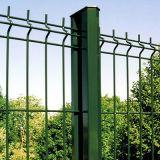 金網の塀の中国の緑PVCによって塗られる溶接された卸売