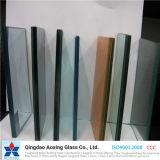 Ясное или покрашенное стекло безопасности прокатанное