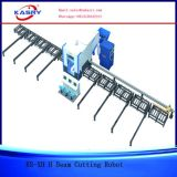 Ligne de découpage complètement automatique de faisceau pour la structure métallique