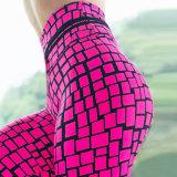 Amazônia Venda Quente Plaid Impresso Calças de ioga Slim respirável calças desportivas mulheres calças Slim