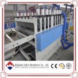 Cadena de producción de la protuberancia de la tarjeta de la espuma de la corteza del PVC