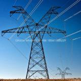 Tourner la ligne de transport d'énergie principale tour en acier d'usine de production