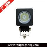 2 mini indicatore luminoso del lavoro del CREE LED di pollice 10W per i motocicli della barca di ATV