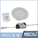 Saso RoHS IEC CE 24W blanc froid Paneles de lumière LED LED du panneau