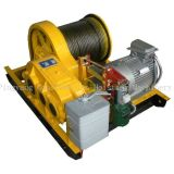 Elétrica Pull guincho 40ton com dispositivos Spool