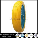 Pneumatico di rotella della gomma piuma dell'unità di elaborazione 4.00-8 pollici per la riga della barra del carrello del carrello