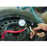 빨간 호스 9602A를 가진 공기 타이어 압력 계기