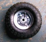 Rotella di gomma pneumatica della carriola del camion di mano 3.50-4 per il carrello dello strumento