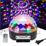 Indicatore luminoso magico della sfera della fase LED del punto dell'ABS 1*6W RGB Bluetooth