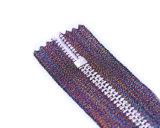 Zipper do metal com o extrator violeta da fita e da fantasia/qualidade superior