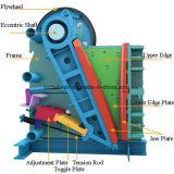 Mini PE di pietra di modello mobile di piccola dimensione 600*900 del frantoio a mascella del motore diesel