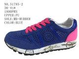 2 ботинка спорта размера женщин PU цветов