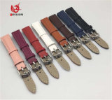 Logo personnalisé OEM Bracelet en acier inoxydable, bracelet en cuir de remplacement pour les hommes à la promotion de regarder la sangle de la bande Factory#V875