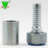 Le raccord hydraulique dimensions personnalisées Extrémité de flexible de raccord de tuyauterie hydraulique des raccords