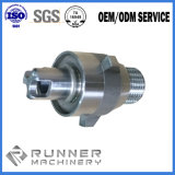 일 정착물을%s 가진 CNC 대패 절단 기계장치 단철 또는 알루미늄 또는 강철 기계로 가공 부속
